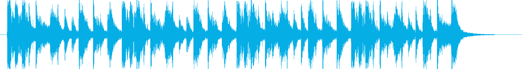 ミステリアスポップジングル/ハロウィンの再生済みの波形