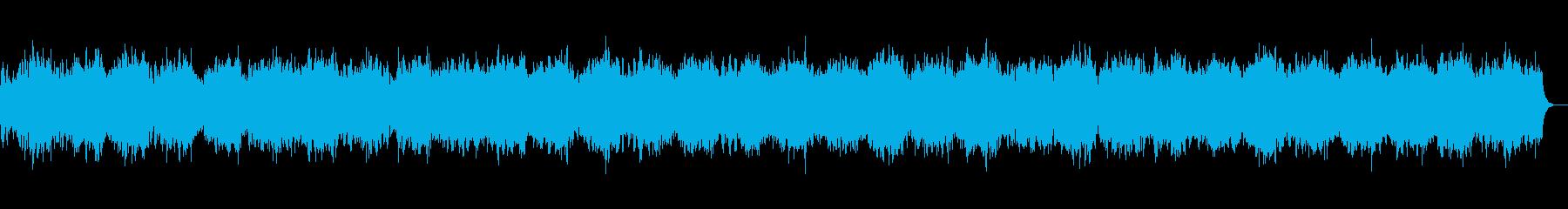 眠りへ誘う幻想的な楽曲の再生済みの波形