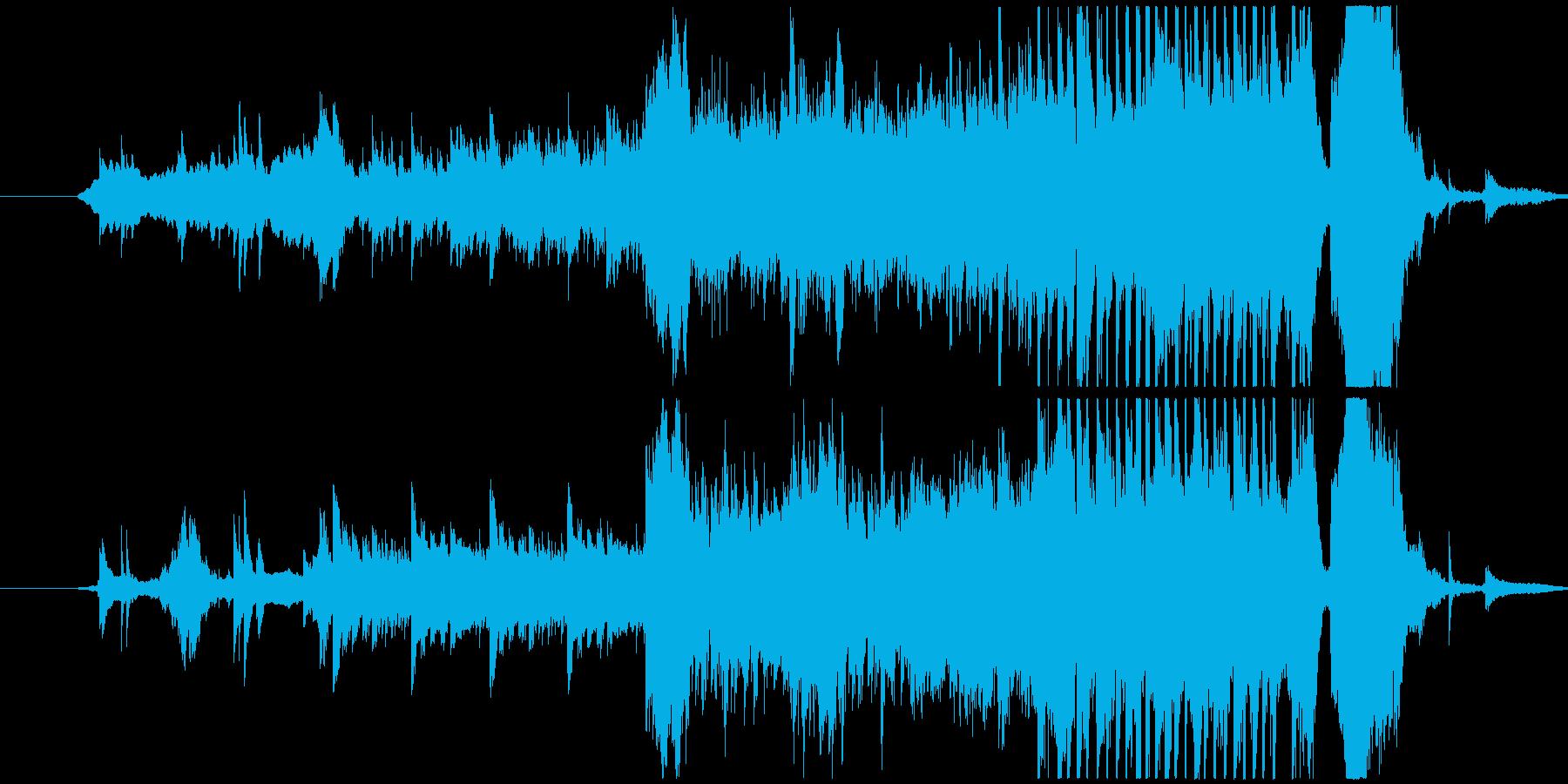 現実を受け入れなければいけない曲調の再生済みの波形
