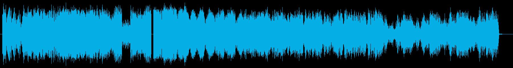 シャープラピッドフラッタートランジ...の再生済みの波形