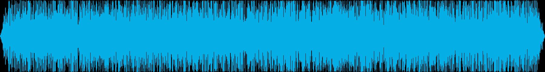 火/炎/火炎系効果音の再生済みの波形