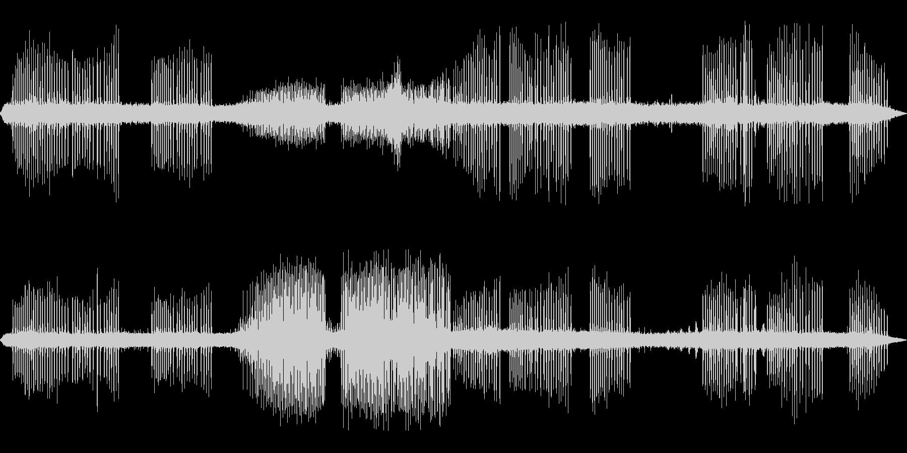 カエルの鳴き声-3の未再生の波形