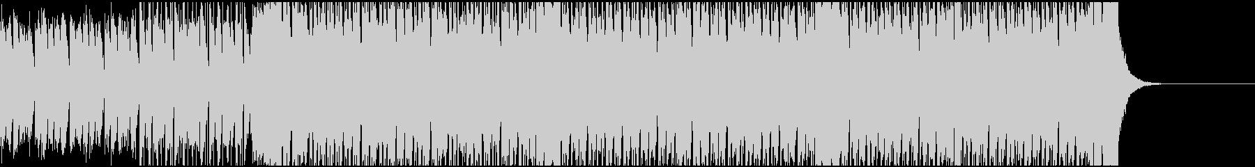 心機一転元気な応援BGMの未再生の波形
