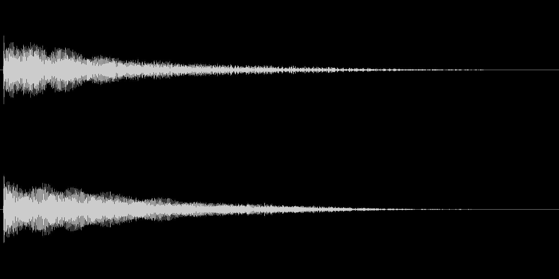 ダークな鐘の音_001の未再生の波形