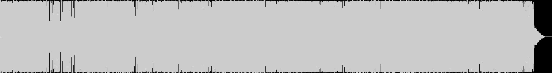 疾走感のある女性ボーカルテクノ(Dnb)の未再生の波形