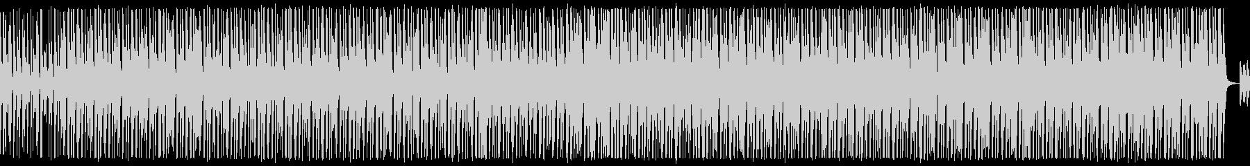 口笛、手拍子、ピアノが可愛いBGMループの未再生の波形