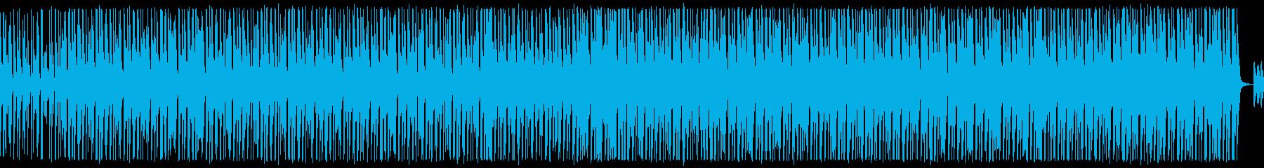口笛、手拍子、ピアノが可愛いBGMループの再生済みの波形