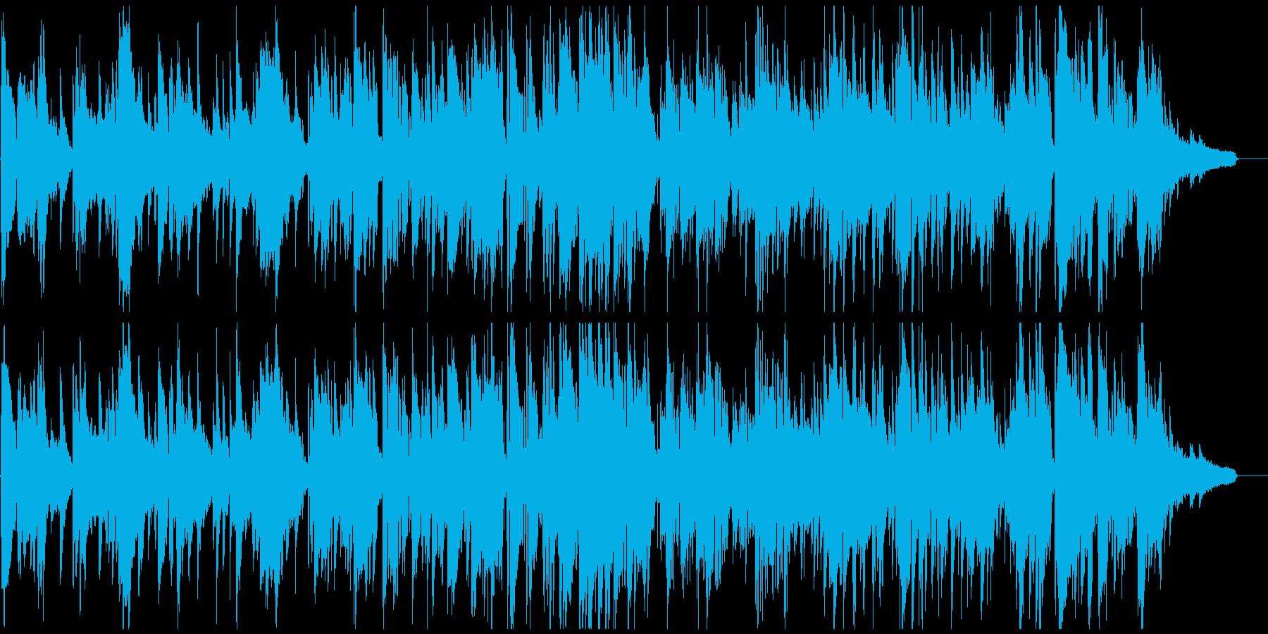 まったりとくつろいだ雰囲気の大人バラードの再生済みの波形