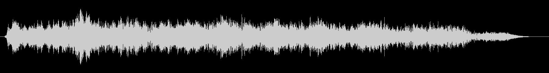 パッド ホラーソナー03の未再生の波形