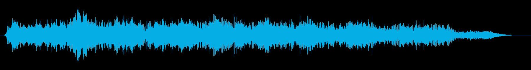 パッド ホラーソナー03の再生済みの波形