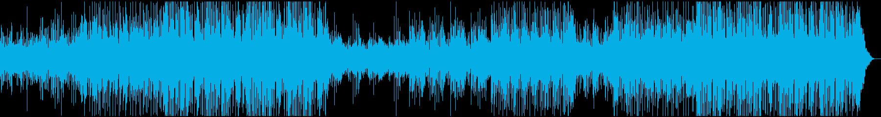 電子的サウンド、アルペジエーター、...の再生済みの波形