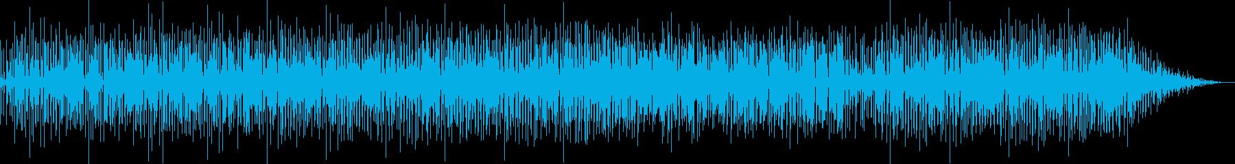 ノリの良いインストゥルメンタルファンクの再生済みの波形