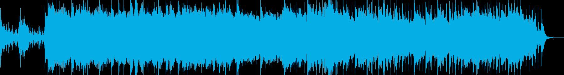 大海原を航海するタイタニック号の再生済みの波形