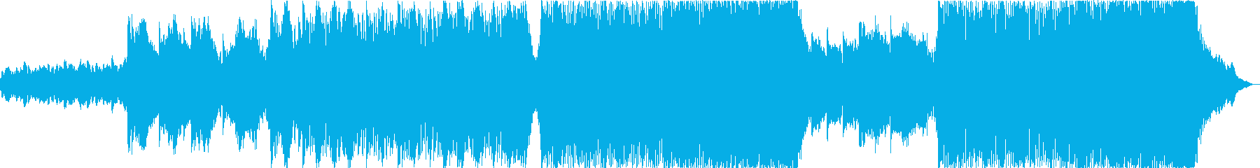 Inspiring Piano Epicの再生済みの波形