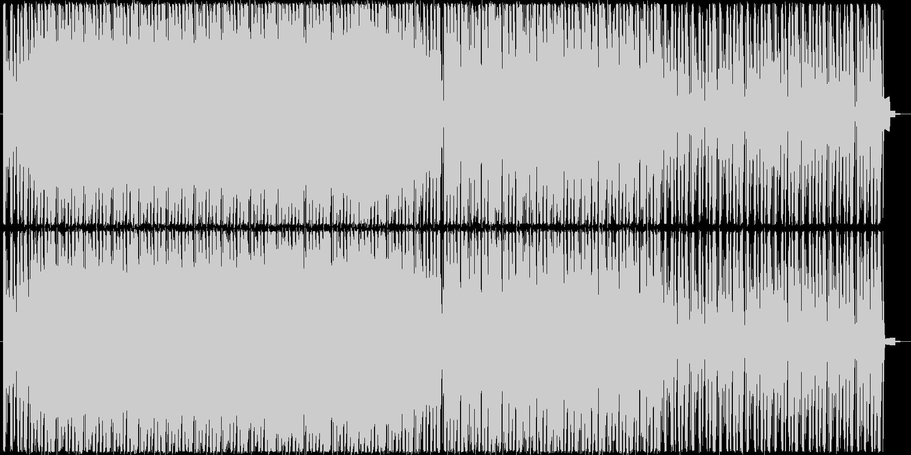サイレン音を使用したループ音源の未再生の波形