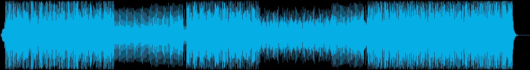 デジタル可愛いエレクトロポップ-ダンスの再生済みの波形