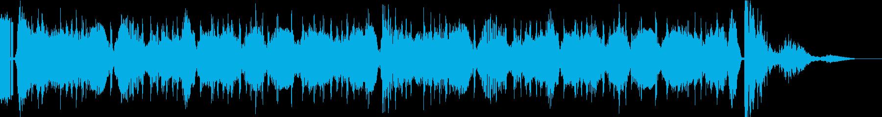 ビッグスタッフの再生済みの波形