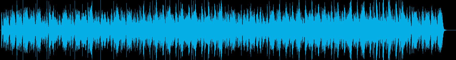 ミニマルなビート、サイエンスの再生済みの波形