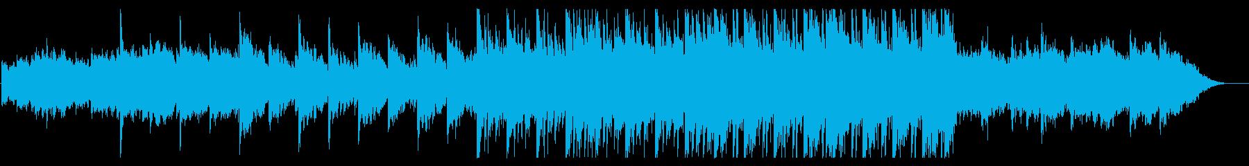 高揚感躍動感あふれるテクノロジー系アンビの再生済みの波形