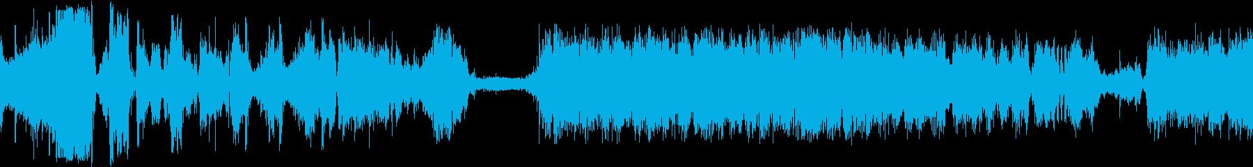 モーターストレスの再生済みの波形