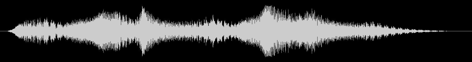 素材 揺れるドローンディープ03の未再生の波形