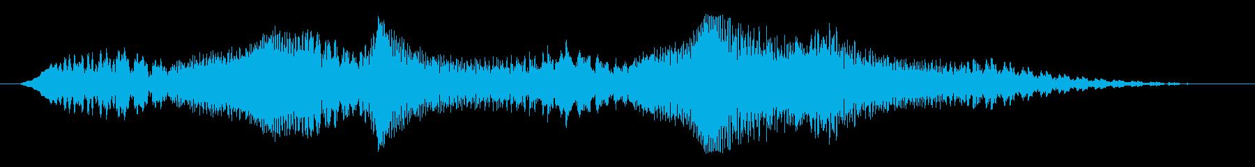 素材 揺れるドローンディープ03の再生済みの波形