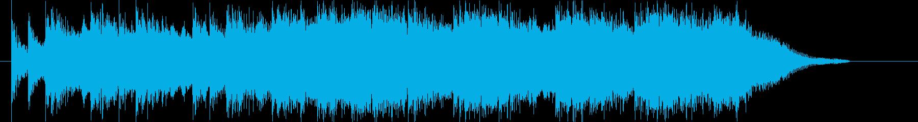 シネマティックトレーラー/シリアス/予告の再生済みの波形