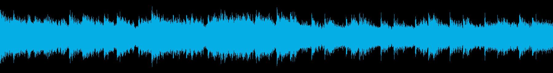 冒険をイメージした曲/ループ仕様 ピアノの再生済みの波形