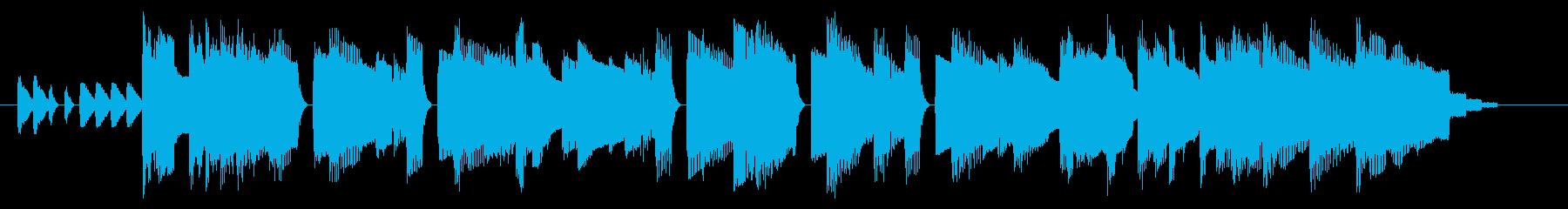 NES アクションD01-1(タイトル1の再生済みの波形