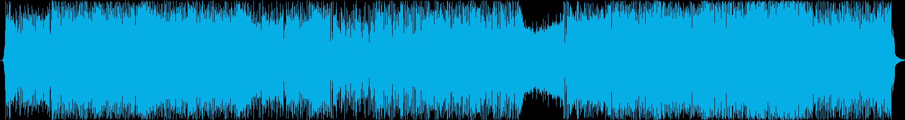 疾走感溢れる軽快なFuture Bassの再生済みの波形