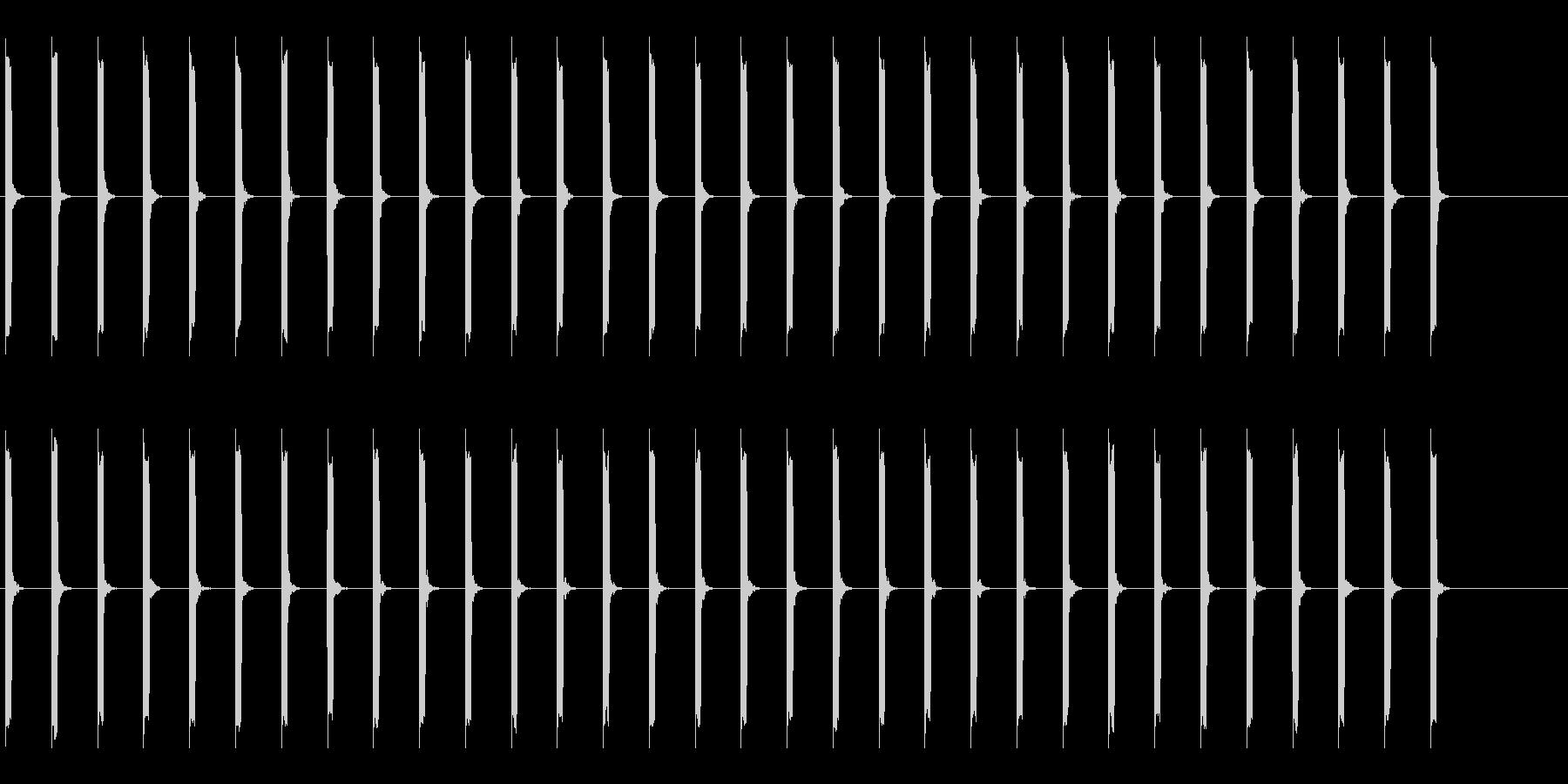 心電図の音-2-2(BPM50)の未再生の波形