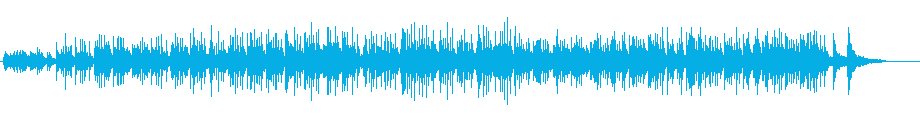 高貴で神道の雰囲気の音楽の再生済みの波形