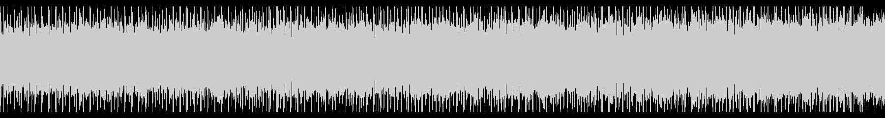 インフォグラフィック(ループ)の未再生の波形