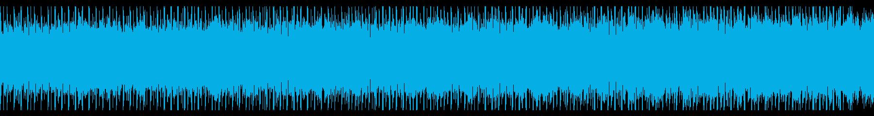 インフォグラフィック(ループ)の再生済みの波形