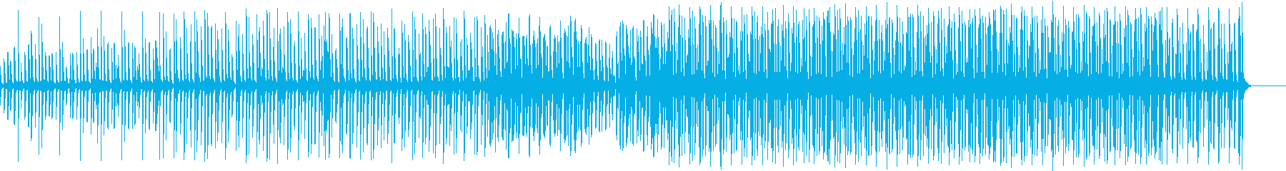怪しい・ダークなエレクトロソングの再生済みの波形