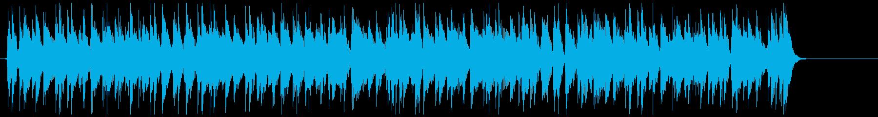アイキャッチ☆アコギでブルージーなポップの再生済みの波形