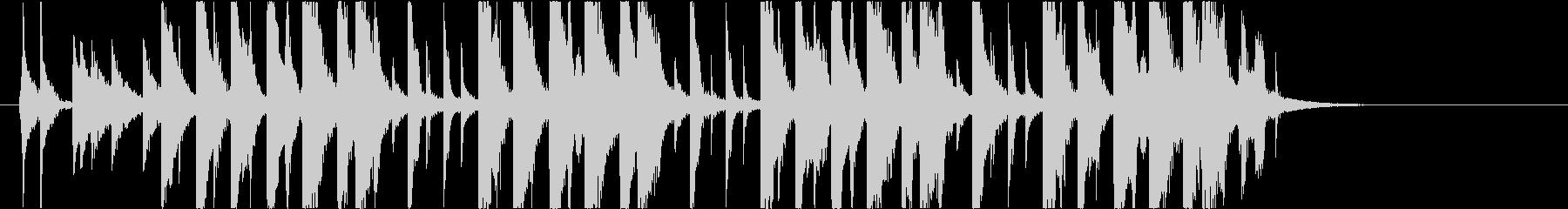 【南国効果音】ビーチサンダルの未再生の波形