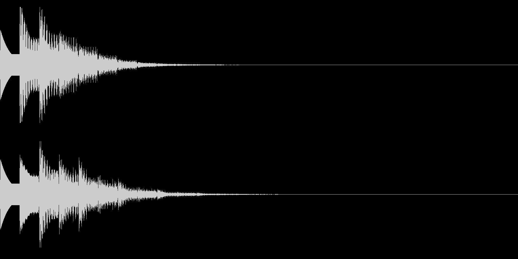 ピコポン(獲得クリア/レベルアップ/FCの未再生の波形
