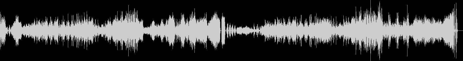 ベートーヴェンのピアノソナタ23番熱情の未再生の波形