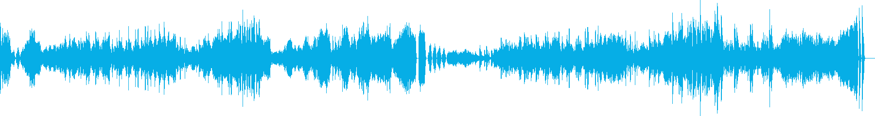 ベートーヴェンのピアノソナタ23番熱情の再生済みの波形