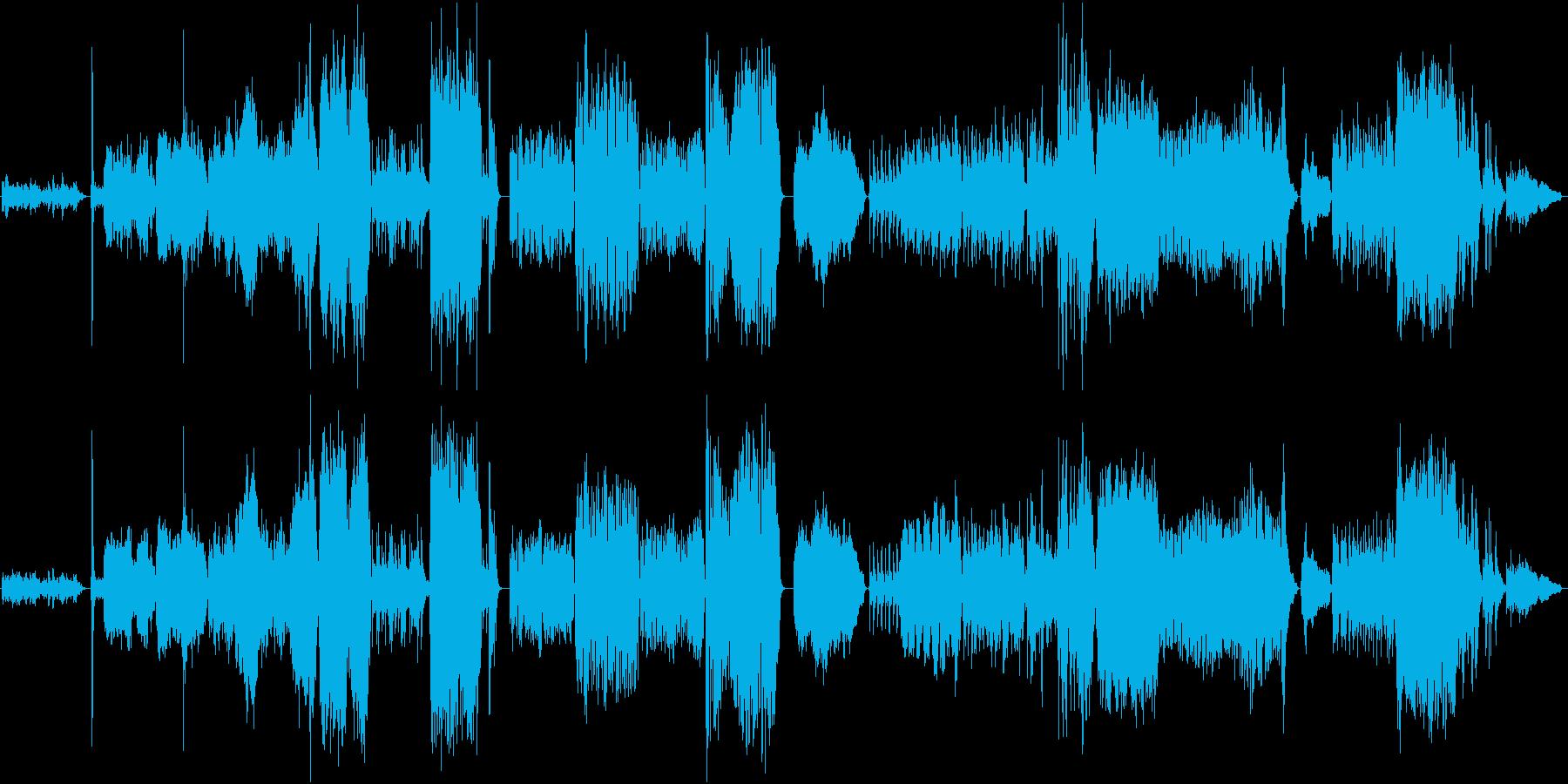 ギターとオーケストラのための協奏曲の再生済みの波形