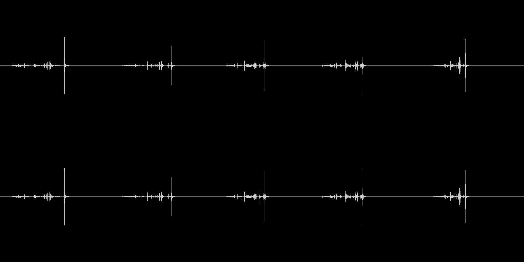 【ハサミ03-4(紙を切る)】の未再生の波形