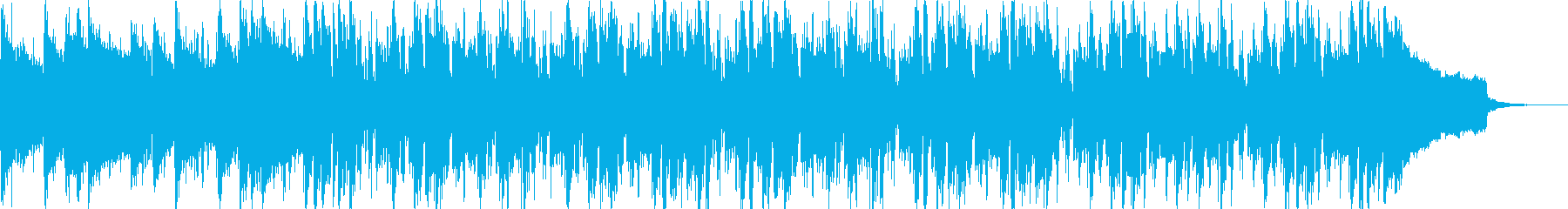 ピアノジャズ風バラードの再生済みの波形