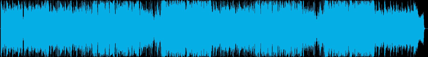 尺八と琴の和風バラードの再生済みの波形