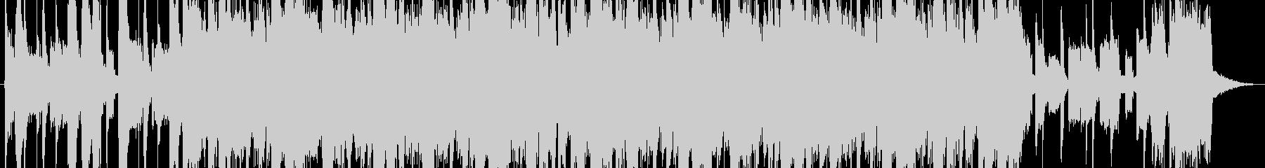 ジングル - チアリーディングの未再生の波形
