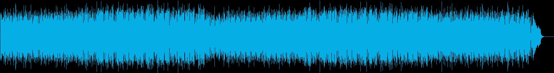 CM 充実 情報 前進 躍動 元気 の再生済みの波形