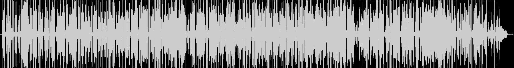 ピアノソロのジャズ風BGMの未再生の波形