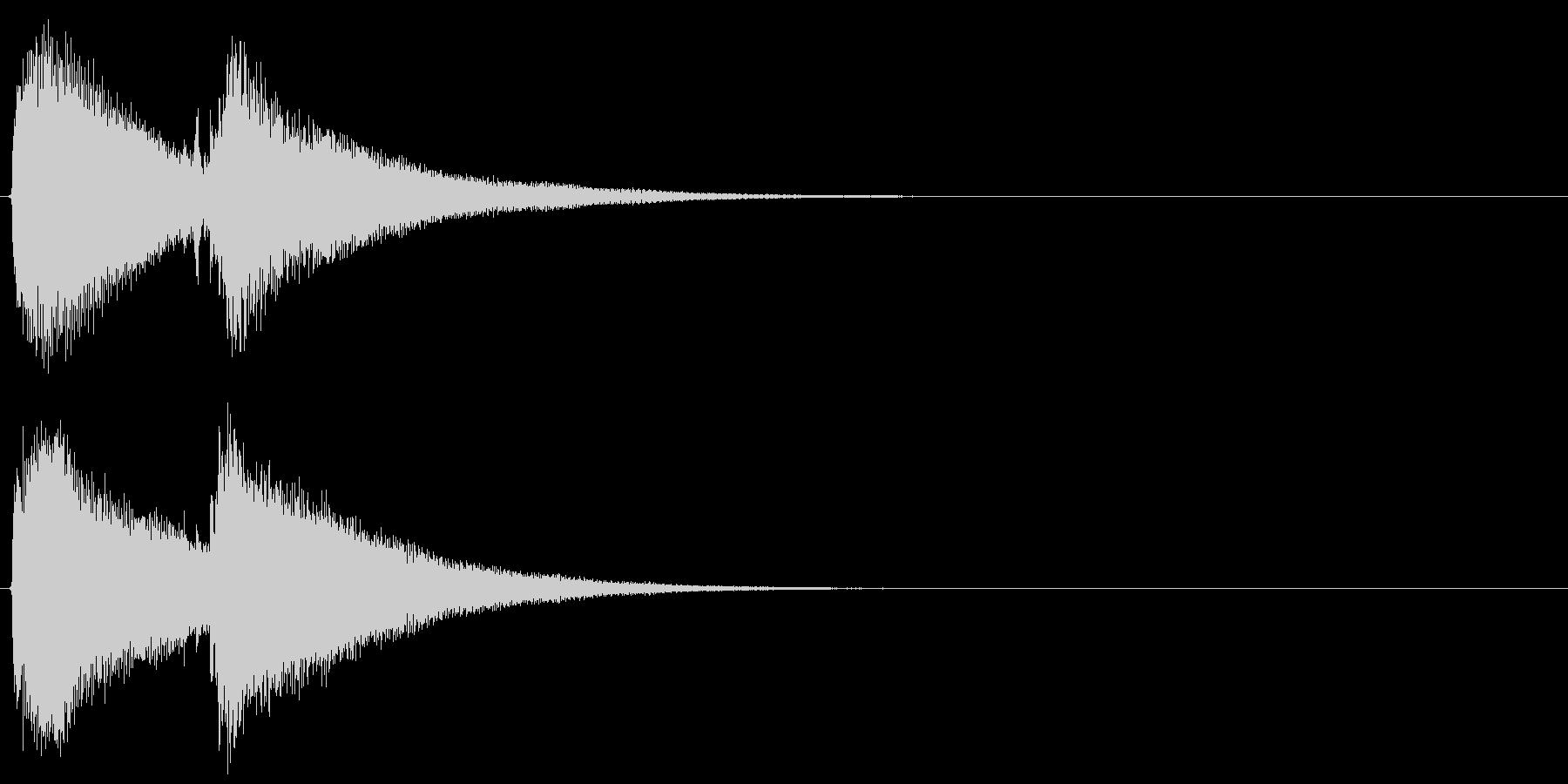 【効果音】サウナ用のギター:ととのい3の未再生の波形