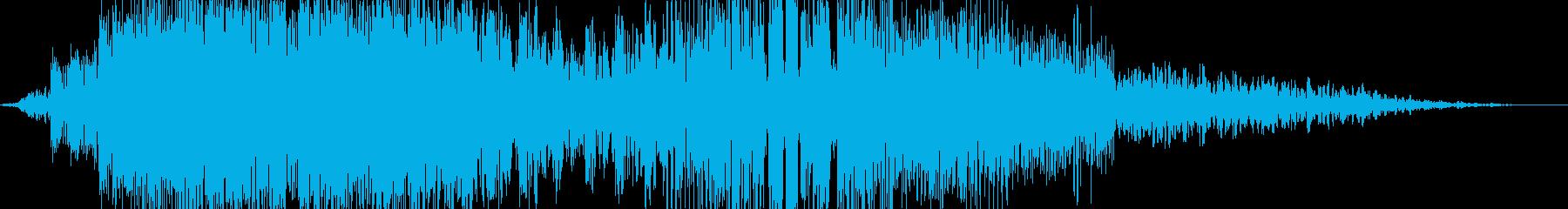 【ホラーゲーム】  環境音 「ゴワーッ」の再生済みの波形