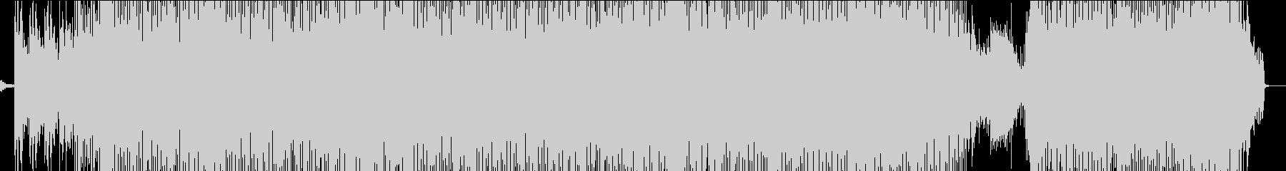 シンセポップなサウンドが主体のインストの未再生の波形